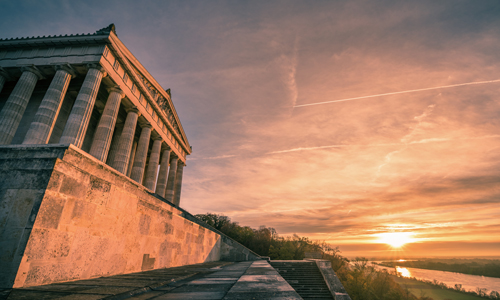 Walhalla Sonnenaufgang (c) Andreas Beiderbeck Photography