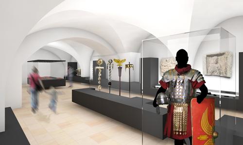 500x300 Visualisierung Der Ausstellung Im Museum Lauriacum, (c) ARGE Plank Veit Aschenbrenner