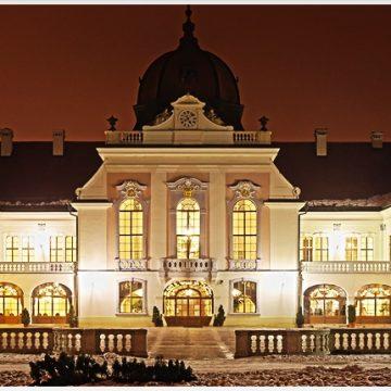 Tél Udvar Felöl Schloss Gödöllő