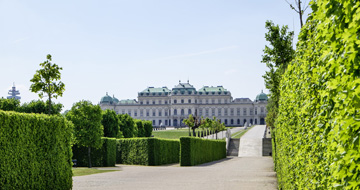 Belvedere © Wien Tourismus Christian Stemper