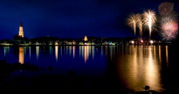 Vilshofen Donau in Flammen © Stadt Vilshofen