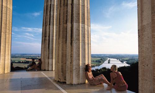 Donaustauf Walhalla Foto Regensburg Tourismus GmbH