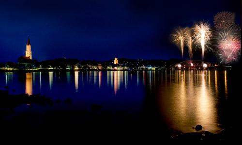 Vilshofen 'Donau In Flammen' In Vilshofen(c)Stadt Vilshofen