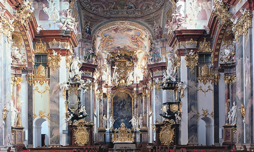 Wilhering Stiftskirche © Straße der Kaiser und Könige