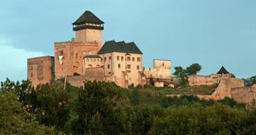 Burg Trenciansky Hrad © Slovakia