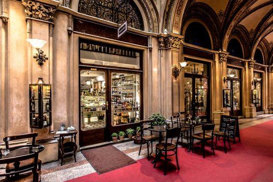 Kaffeehaus Wien © Pixabay J. Peter