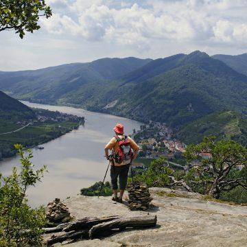 Wandern Ausblick Donau Donau.com