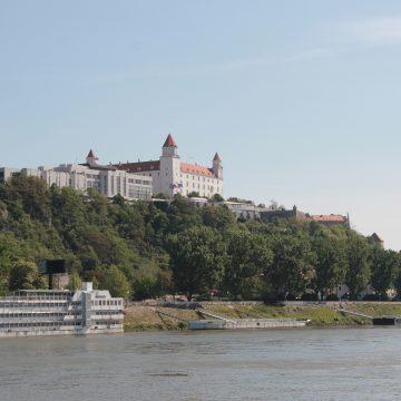 Einfahrt Bratislava